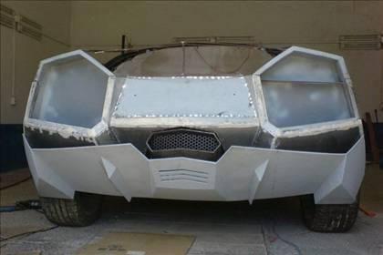 Lamborghini görünümlü Mitsubishi 25