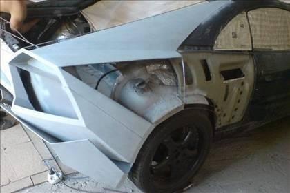 Lamborghini görünümlü Mitsubishi 26