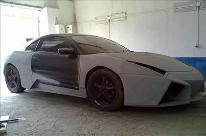 Lamborghini görünümlü Mitsubishi 32