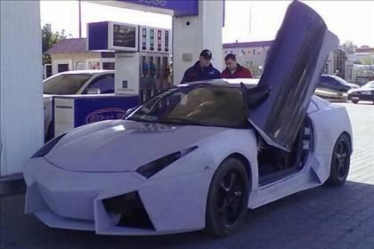 Lamborghini görünümlü Mitsubishi 36