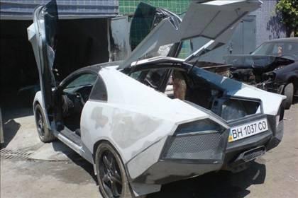 Lamborghini görünümlü Mitsubishi 38