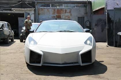 Lamborghini görünümlü Mitsubishi 44