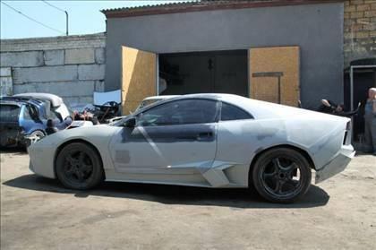 Lamborghini görünümlü Mitsubishi 45