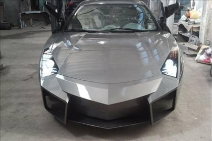 Lamborghini görünümlü Mitsubishi 51