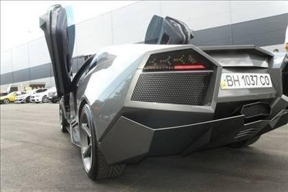 Lamborghini görünümlü Mitsubishi 56