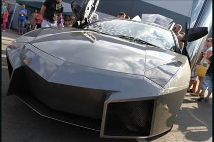Lamborghini görünümlü Mitsubishi 57