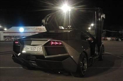 Lamborghini görünümlü Mitsubishi 58