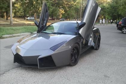 Lamborghini görünümlü Mitsubishi 61