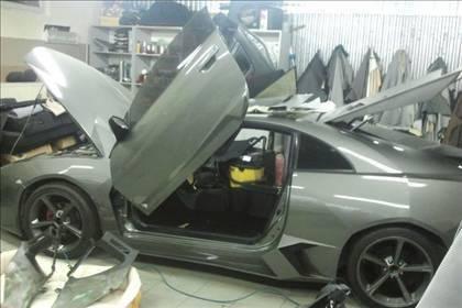 Lamborghini görünümlü Mitsubishi 63