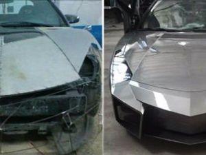 Lamborghini görünümlü Mitsubishi