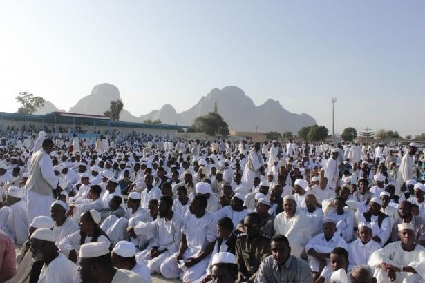 Afrika'nın en büyüğü Sudan'da bayram 10
