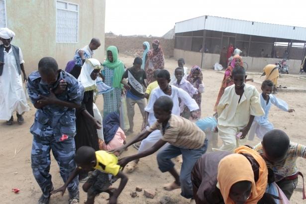 Afrika'nın en büyüğü Sudan'da bayram 26