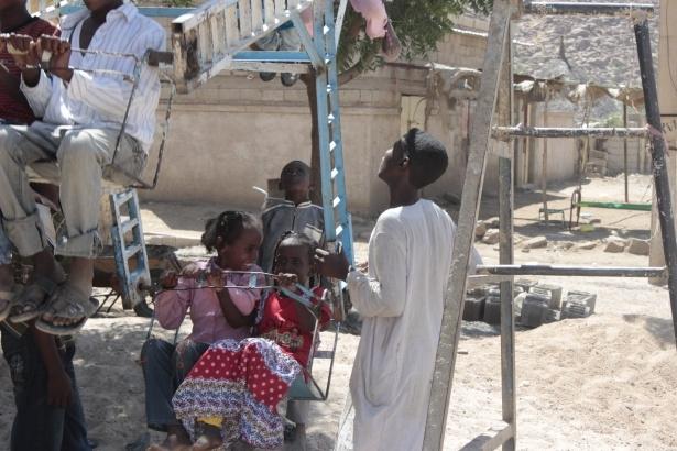 Afrika'nın en büyüğü Sudan'da bayram 30