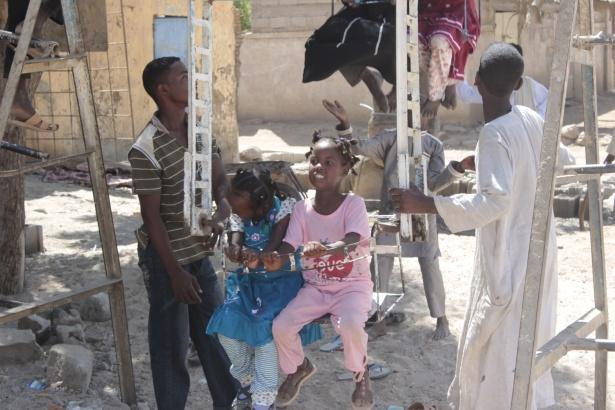 Afrika'nın en büyüğü Sudan'da bayram 31