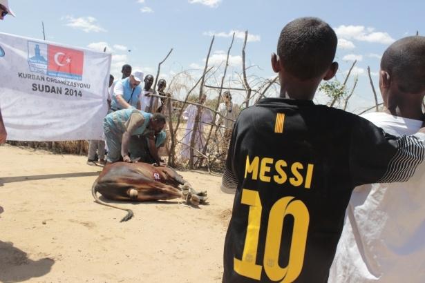 Afrika'nın en büyüğü Sudan'da bayram 37