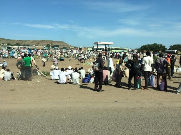 Afrika'nın en büyüğü Sudan'da bayram 5