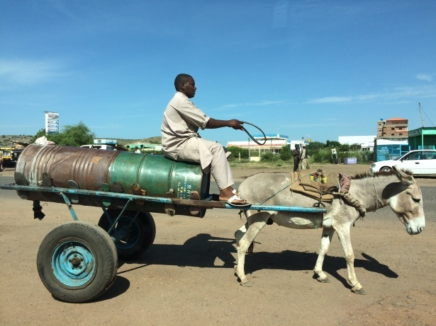 Afrika'nın en büyüğü Sudan'da bayram 8