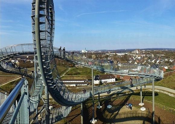 Dünyanın en ilginç ve muhteşem merdivenleri 34