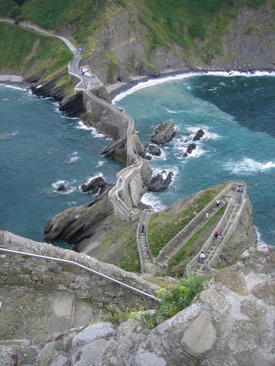 Dünyanın en ilginç ve muhteşem merdivenleri 5