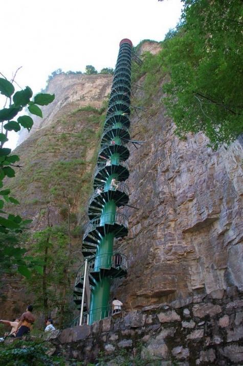 Dünyanın en ilginç ve muhteşem merdivenleri 9