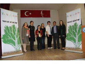 'Hayat Ağacım' Projesi Edirne'de Öğrencilere Anlatıldı