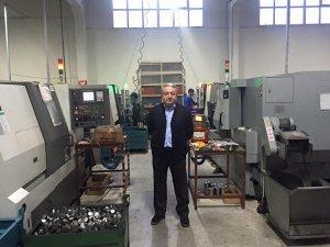 Mehmet Can üretim denetiminde