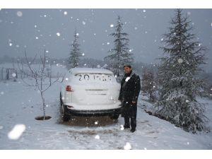 Aladağ'da kar sevinci