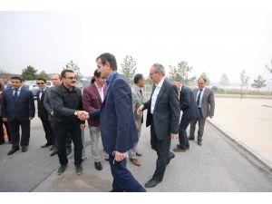 Beyşehir'e yapılan yatırımlar incelendi