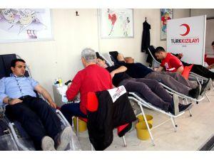 Kızılay, Seydişehir'den 328 ünite kan topladı