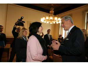 AB Bakanı ve Başmüzakereci Bozkır, Avusturya'da