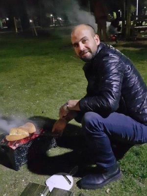 Ahmet Erim'in mangal keyfi