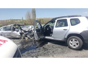 Beyşehir'de  trafik kazası: 3 yaralı