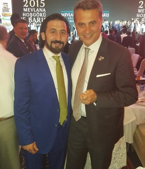 Fenerli Arif Bey, Beşiktaş Başkanı ile