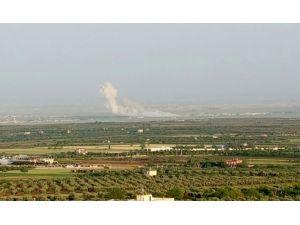Azez'de DAEŞ ile ÖSO arasındaki çatışmalar