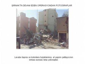 Şırnak'ta bombalar tek tek imha ediliyor