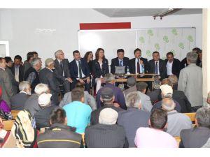 Hadim'de Bozkır Barajı bilgilendirme toplantısı