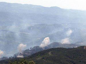 Türkmendağı yoğun top ateşine tutuluyor