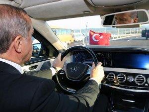 Cumhurbaşkanı ve  Başbakan Osman Gazi Köprüsü'nde