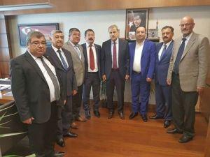 Sivil toplum kuruluşları başkanlarından Ankara ziyareti