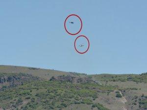 3 askeri şehit eden PKK'lıların geçiş güzergahları bombalandı