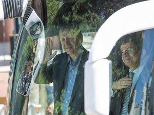 Cumhurbaşkanı Erdoğan ve Başbakan Davutoğlu Antalya'da