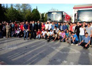 """Seydişehir'de başarılı öğrencilere """"Çanakkale gezisi"""" ödülü"""