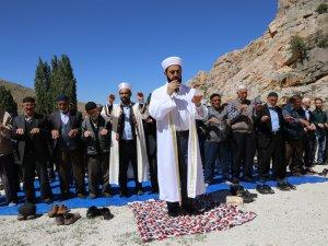 Halkapınar'da yağmur duası