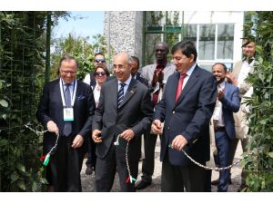 EXPO'da kurulan İtalyan bahçesi açıldı
