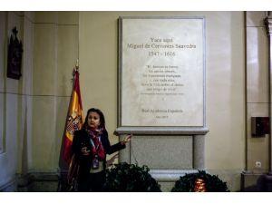 Cervantes'in mezarı Madrid'de turizme açıldı