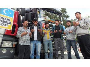 Nevşehir'den Bayırbucak'a patates yardımı