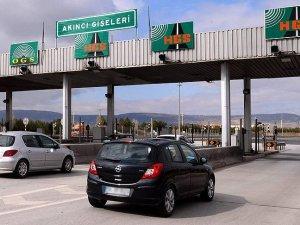 Köprü ve otoyol geliri 3 ayda 289 milyon lira oldu