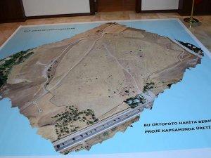 Selçuklu Mezarlığı'nın 'Ortofoto Haritası' çıkarıldı