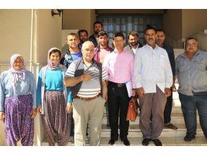 Adana'da eylem yapan patates üreticileri