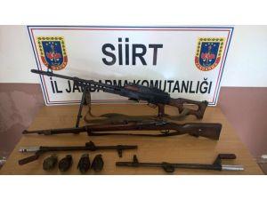 Siirt'te kaçak silah operasyonu